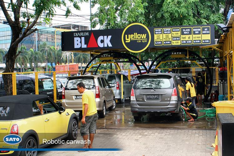 Yellow Car Spa Sunter