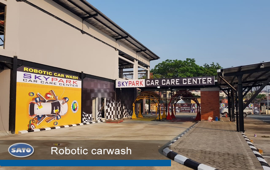 Beranda Sato Peralatan Otomotif Robotic Carwash